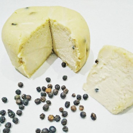 The Opulent - Aged Black Peppercorn Vegan Cheese