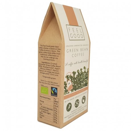 Unroasted Green Bean Coffee - Peach Flavour