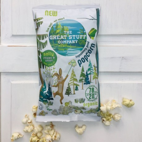 Organic Popcorn Mixed Selection Box (20 bags)