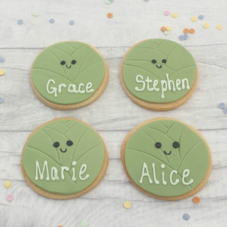 Sprouts Themed Novelty Party Cookie Favours