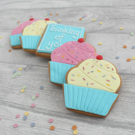 Thinking Of You Cupcake Cookies