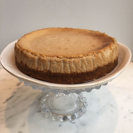 Vegan Baked Cheesecake (Gluten & Refined Sugar Free)