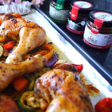 Authentic Ajika Chilli & Herb Paste Selection