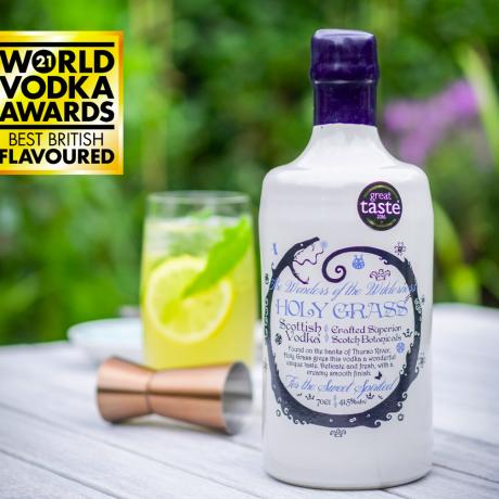 Holy Grass Vodka award
