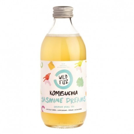 Jasmine Dreams Kombucha Fermented Tea (12 Bottles)