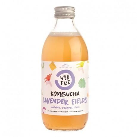 Lavender Fields Kombucha Fermented Tea (12 Bottles)
