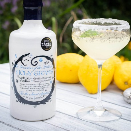 Holy Grass Vodka cocktail