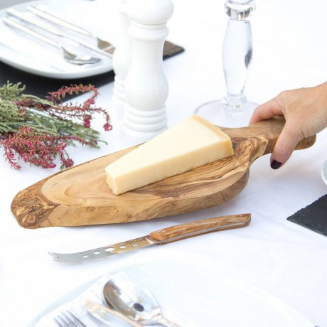Rustic Oval Olive Wood Cheese/Chopping Board