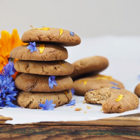 Ginger & Spice Cookie Dough (Gluten Free, Vegan, Refined Sugar Free)