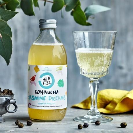 Organic Kombucha Fermented Tea Rainbow Pack (12 Bottles)