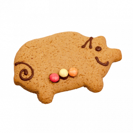 Gingerbread Pigs- Box of 12