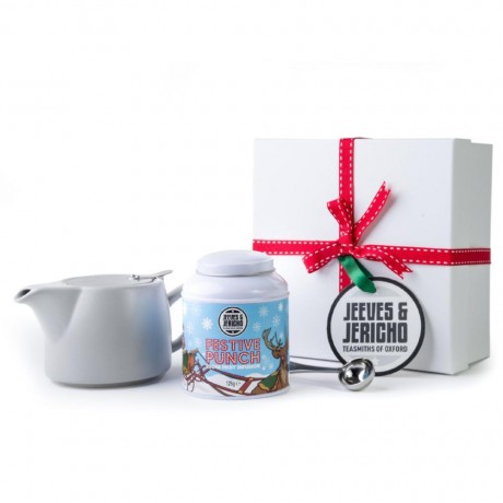 Teapot & Tea Selection Gift Set