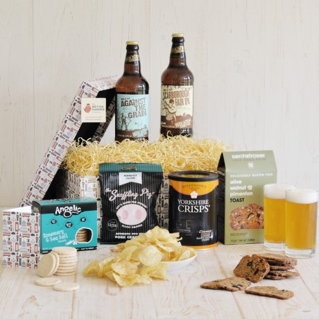 Gluten Free Beer and Snack Hamper The British Hamper Company