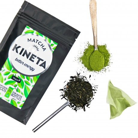 Matcha green tea cold infusion