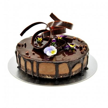 Vegan Salted Chocolate Ultimate Cake