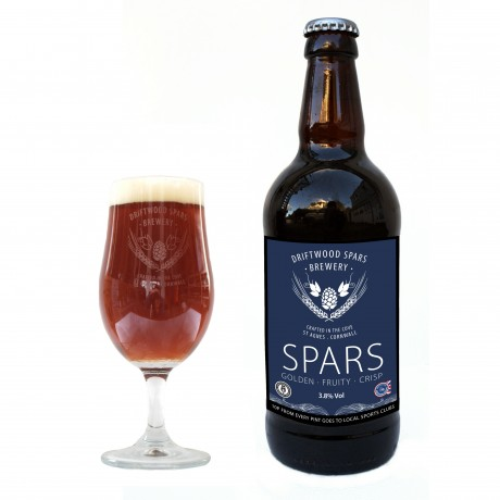 Spars Bottle Conditioned Craft Beer (Case of 12)