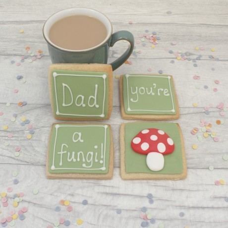 Dad you're a fungl! Birthday Cookie Set
