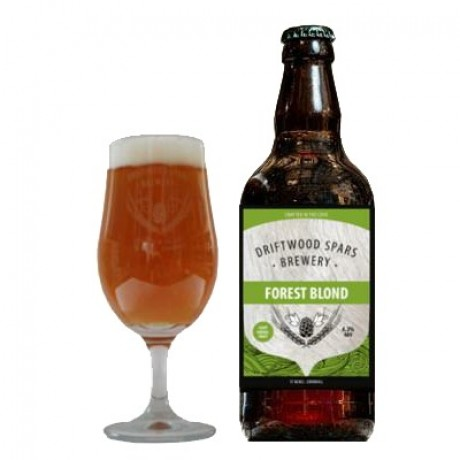 forest blond craft beer