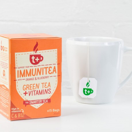 t + Immunitea vitamin super tea (4 pack)