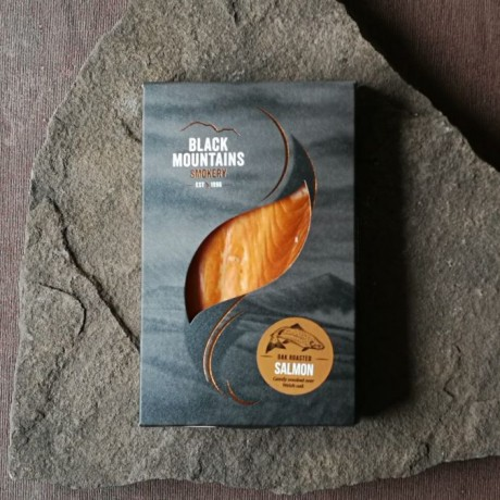 Black Mountains Smokery Oak Roasted Hot-Smoked Salmon