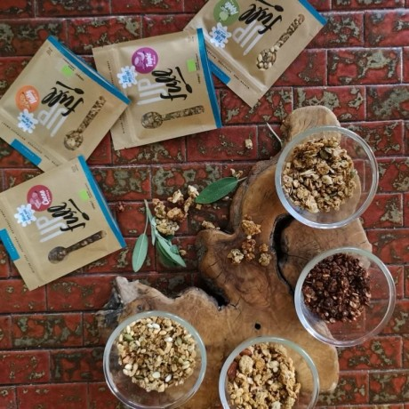 Organic Granola Selection 'Bags on the Go'