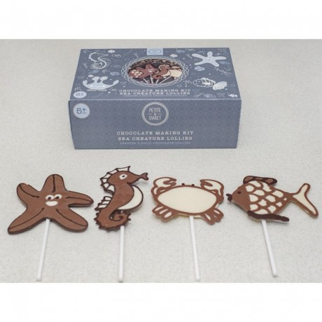 Sea Creature Chocolate Lolly Kit