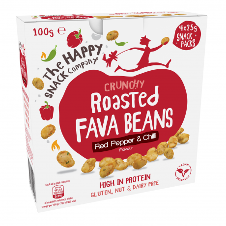 Red Pepper & Chili Roasted Fava Beans Multipack