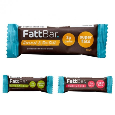 Super Fat Keto Bar Variety Box