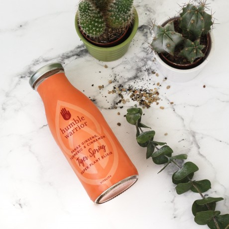 Tiger Spring Super Plant Elixir with Ginseng, Cinnamon & Turmeric