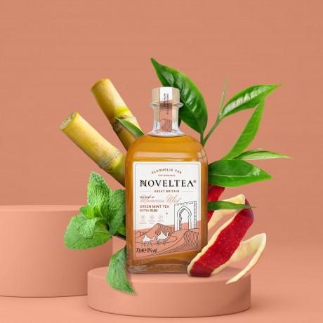 Ingredients - Green Tea, Caribbean White Rum, Spearmint, Lemongrass & Apple