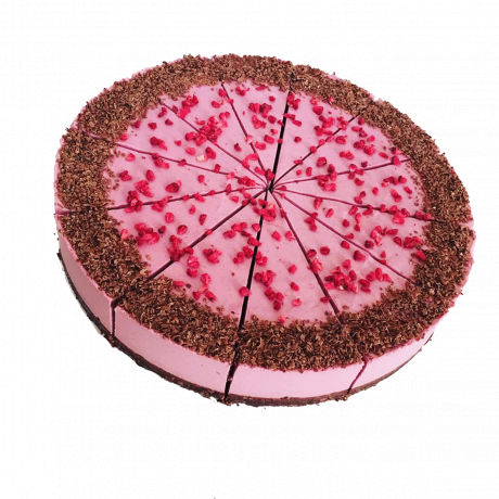 Raspberry Raw Gluten-Free Cake