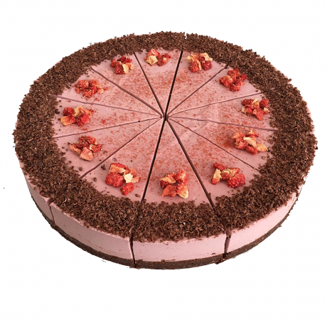 Strawberry Raw Cake