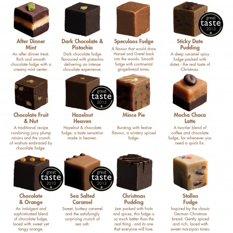 12 Flavours of Christmas Flavours