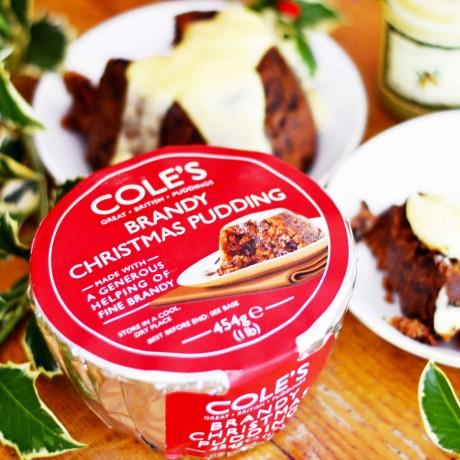 Cole's - Brandy Christmas Pudding