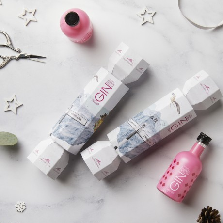 The Lakes Rhubarb And Rosehip Gin Christmas Cracker