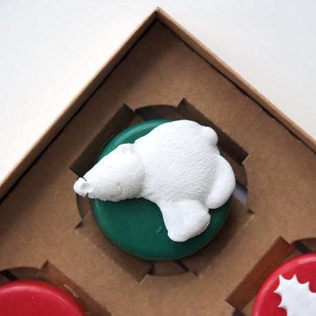 Christmas Mini Chocolate Covered Oreos