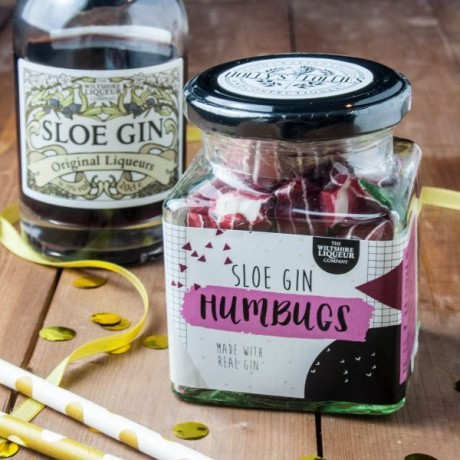 Sloe Gin Humbug Candy
