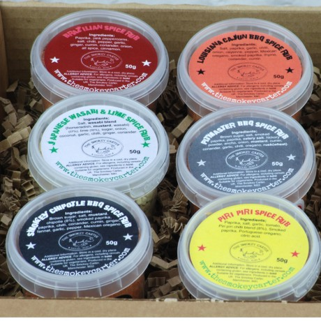Ultimate Barbecue Rub Gift Set