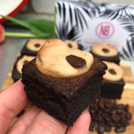 Cappuccino Vegan Brownies