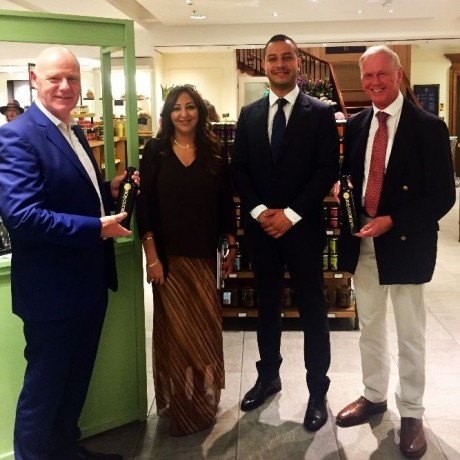 Deputy Head Of Mission and Economic Advisor from Moroccan Embassy at recent tasting event