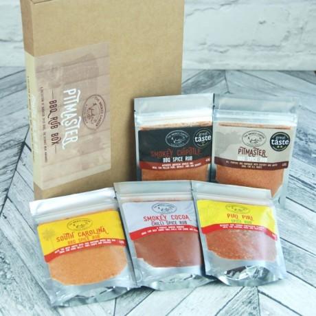 Pitmaster Barbecue Spice Rub Gift Set
