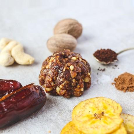 Coffee Walnut Superfood Energy Balls