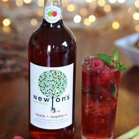 Newton's appl fizzics - apple + raspberry (750ml)