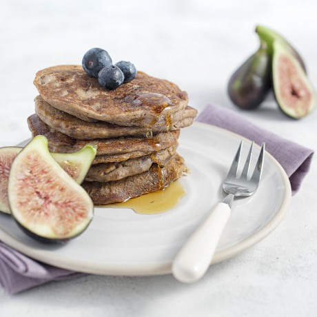 Fig & Orange Perfectly Puffed Pancakes