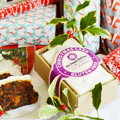 The Simply Delicious Cake Co - Gluten Free Iced Christmas Cake