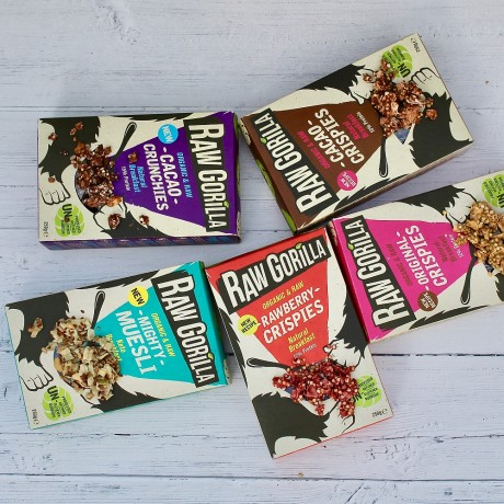 Vegan Raw Breakfast Granola & Crispies Taster Pack