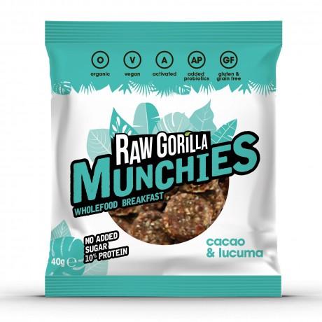 Vegan Raw Cacao & Lucuma Munchies Snacks Multipack