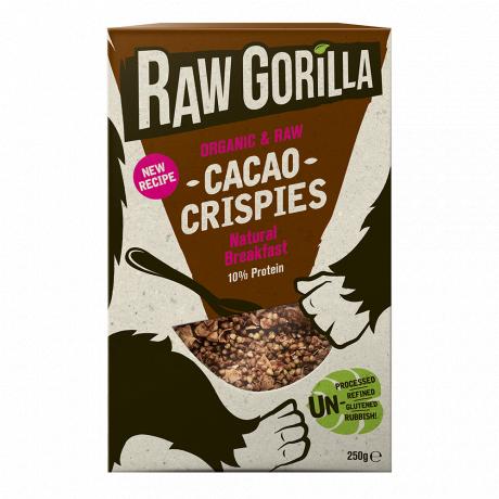 Vegan Raw Cacao Crispies Breakfast Cereal