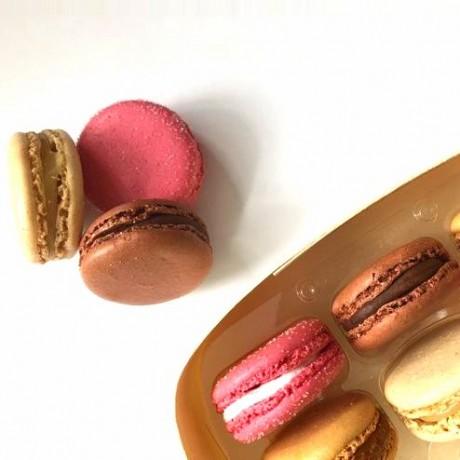 Macarons Desserts Range Selection Box