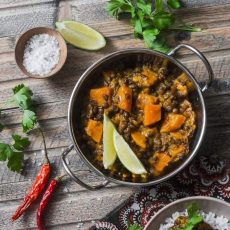 Spice Pots Tandoori Masala Vegetable and Lentil Curry